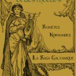 couverture de l'ebook : sur fond doré une gravure représentant une femme tenant une lyre