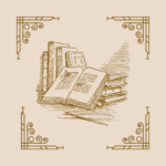 gravure de livres anciens